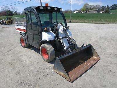 Bobcat 5600 ToolCat Utility Vehicle,1834 Hrs, Cab, Heat/AC, 4X4, All Wheel Steer