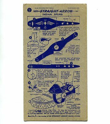 "NABISCO:  ""STRAIGHT  ARROW INJUN-UITIES""  *** SERIES #2 ***   CARD No. 7"