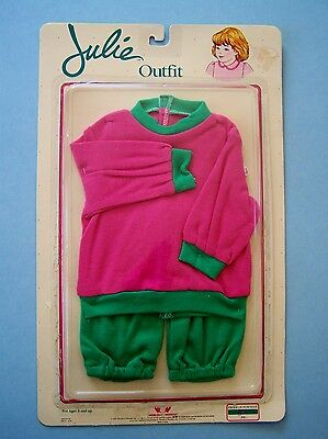 "1987 Worlds Of Wonder Ineractive Julie 22"" Doll Fashion For Wrapping Up Nrfb"
