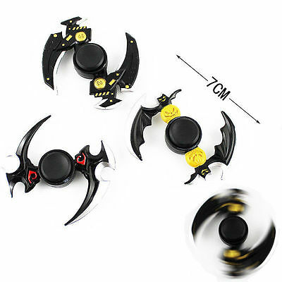 3 Pcs Fidget Hand Spinner Glory Of The King Metal Bearing EDC ADHD Autism Toy