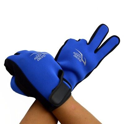 1Pair Adult 2mm Non-slip Neoprene Riding Surfing Spearfishing Glove Protect Hand