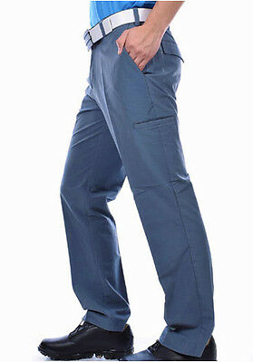 adidas ClimaLite Cargo Mens Golfing Pants - Blue