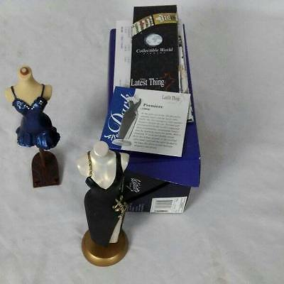 Lot 2 The Latest Thing Miniature Mannequins Premiere Welcome Home NOS