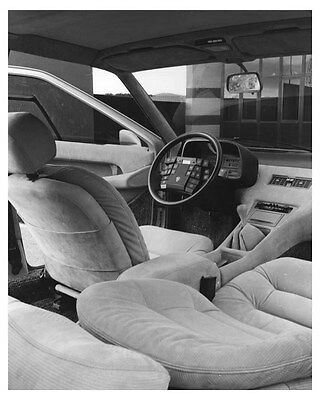 1980 Lancia Medusa Ital Design Concept Interior Photo och6843