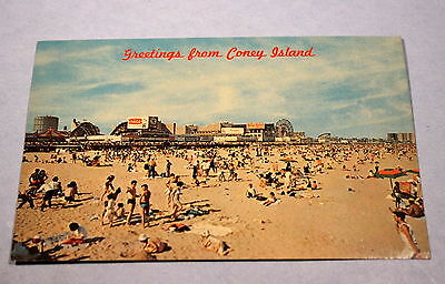 Greetings from coney island ny vintage amusement park postcard greetings from coney island ny vintage amusement park postcard dated 1964 m4hsunfo