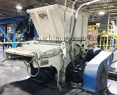 Vecoplan Retech Single Shaft Shredder '02 Rg52/100