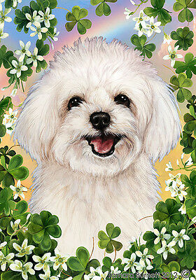 Garden Indoor/Outdoor Clover Flag - Maltipoo 314701