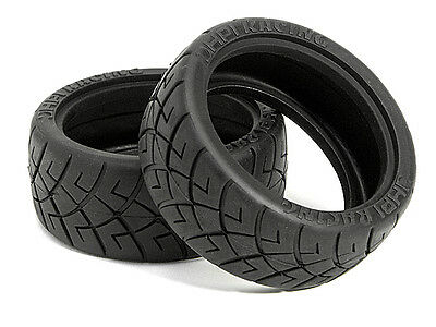HPI X Pattern Radial Tire 26mm D Compound #4790