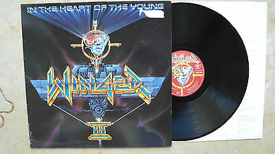 Winger – In The Heart Of The Young , D`90,LP, ois,Vinyl: vg++