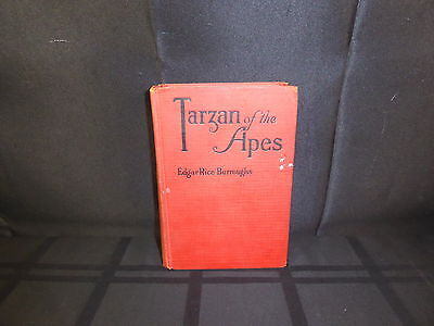 """""""Tarzan of the Apes"""" by Edgar Rice Burroughs 1st Edition US Print 1914(390)"""