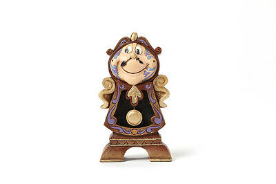 Cogsworth Figure Beauty and the Beast Collectible Figure Jim Shore 4049621 NEW