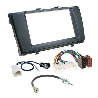 Toyota Avensis T27 ab 09 2-DIN Car Radio Installation Set+Cable,Adapter,