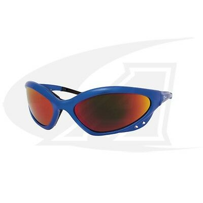 Miller™ Shatterproof Safety Glasses with Shade 5 Lenses - Blue