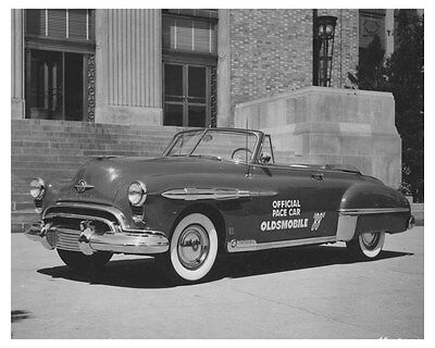 1951 Oldsmobile 88 Official Indy Pace Car ORIGINAL Factory Photo och8043