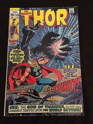 THOR #185 VG+ Condition