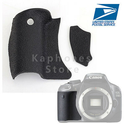 Body Rubber Cover Grip Shell Replacement Part For Canon 550D KISS X4 REBEL T2i