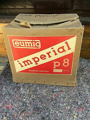 Eumig Imperial P8 Movie Projector for 8mm film In Original Box