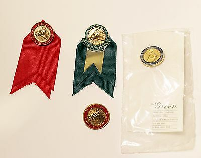 Vintage American Royal Horse Show Equestrian Enameled Pin Badges Group of 4 #1