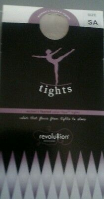 New Revolution Classic Pink Footed Dance Ballet Tights Ladies Womens Size Small