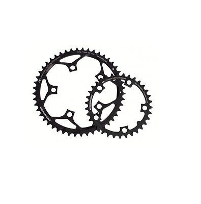STRONGLIGHT CT2  CERAMIC TEFLON  BLACK 110BCD mm SHIMANO COMPACT CHAINRING   33T