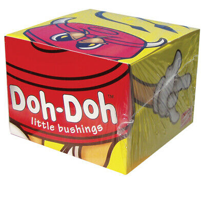 SHORTY'S DOH DOH'S BUSHINGS BOX 5 PAIRS Red 95a (enough for 10 trucks)