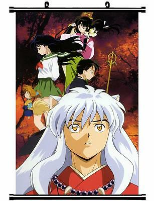 Japan Anime InuYasha Sesshoumaru Home Decor poster Wall Scroll 60*80cm Cosplay