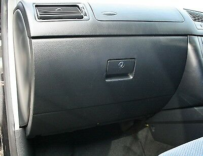 VW Golf MK4 Bora (99-04) Black Glove Box Geniuine OEM Volkswagen