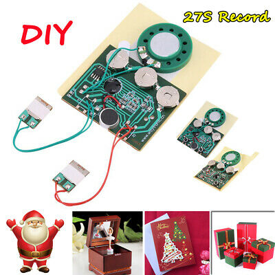 30Second GREETING CARD RECORDABLE voice chip music sound chip module musical NEW