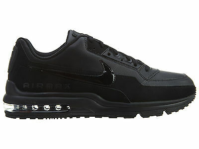 Nike Air Max LTD 3 Mens 687977-020 Black Leather Athletic Running Shoes Size 8.5