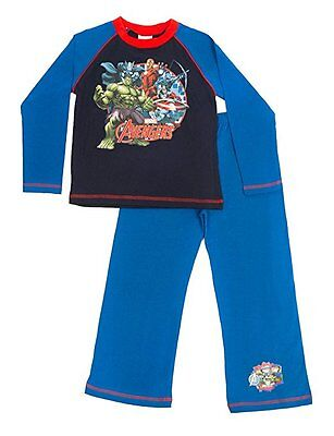 NEW MARVEL AVENGERS PYJAMAS - Boys Kids Super Soft - Choice of Sizes 4-10 Years
