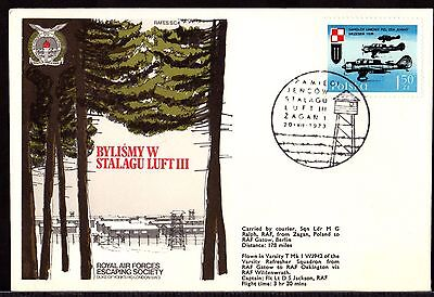 RAF ESCAPING SOCIETY Cover ~ STALAG LUFT III Poland to Berlin OAKINGTON ~ 1973