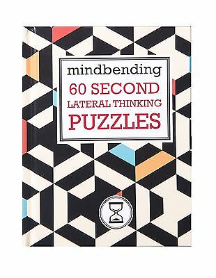 Lagoon Mind Bending 60 Second Lateral Thinking Puzzles Travel Challenge Book