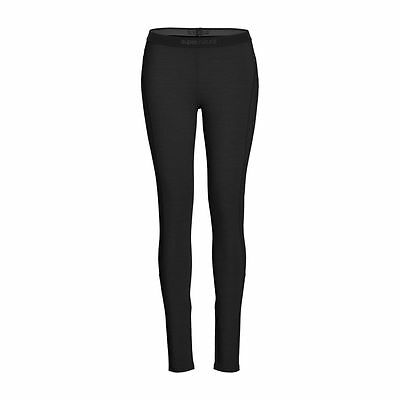 Super.Natural Base Tight 230 Damen Merino Funktionsunterhose schwarz