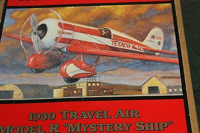 "Wings of Texaco Die Cast 1930 Travel Air Model R ""Mystery Ship"" airplane"