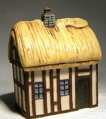 Michael H Lawrence San Fransisco  Miniature House Cob  Cottage Ltd Ed 13/500
