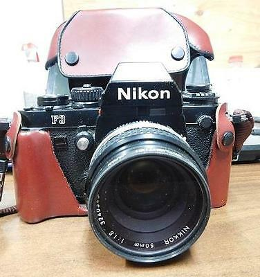 Nikon F3 Film Camera Nikkor 50mm 1:1.8 lens