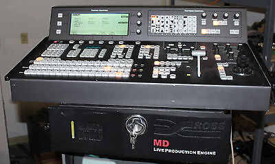 Ross Synyergy MD HD-SDI 16 input High Def Switcher with Control Panel 16 Out