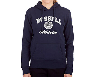 Russell Athletic Women's Core Hoodie - Navy Blue