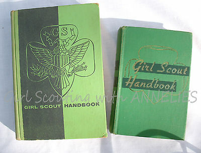 Girl Scout INTERMEDIATE HANDBOOK, 1954 Historical Research Badges Requirements