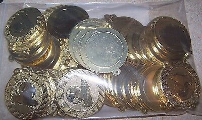 """Lot of 68 Soccer Medal Awards 2"""" Student Sports Field Day Participant Gold"""