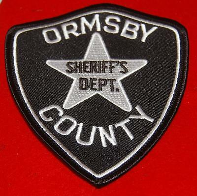 Ormsby County Nevada Deputy Sheriff Patch Defunct County Now Carson City