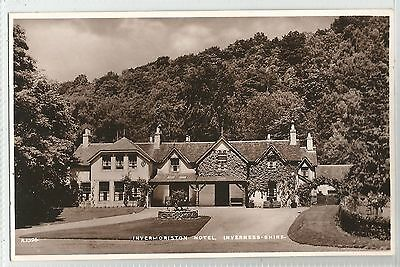 k scotland scottish postcard invermoriston hotel inverness