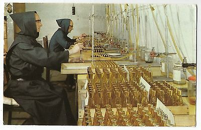 k wales welsh postcard the perfumery caldey abbey