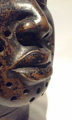 Ife Benin Oba Copper Bronze Portrait Head