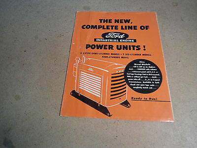Ford Industrial Power Units     4 Pages                    Form 7223
