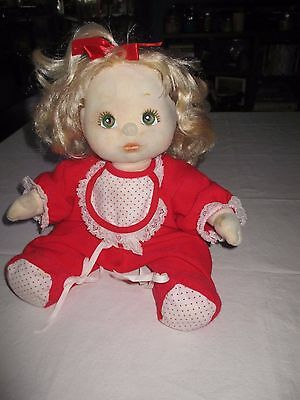 My Child Doll by Mattel with Blonde Hair and Green Eyes ?original Outfit