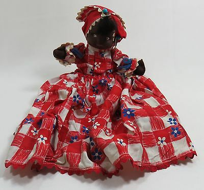 Handmade African American Mammy Doll Toaster Cover VINTAGE