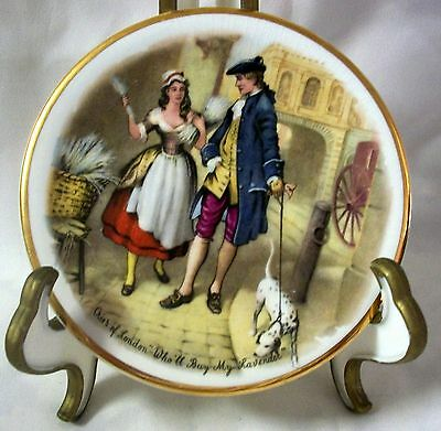 Decorative Small Collector Plate Cries of London Sweet Oranges Myott England