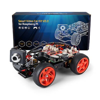 SunFounder PiCar-V for Raspberry Pi 3/2/B+ Electronic Toy with Detail Manual