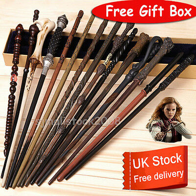 Harry Potter Wand Magic Hermione Dumbledore Voldemort Film Cosplay Toy Gift Box